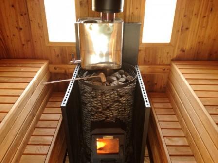 Современные дровяные печи для бани