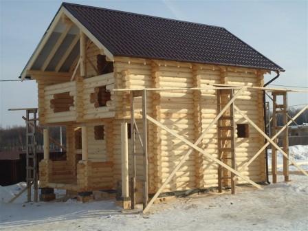 Кровля деревянного дома