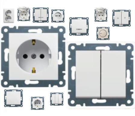 Преимущества выключателей и розеток Hager