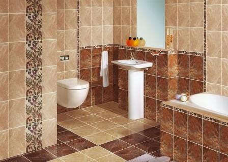 Декор интерьера с помощью керамической плитки