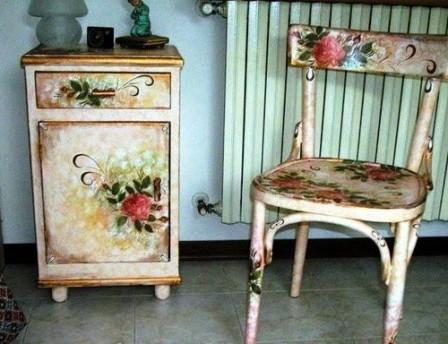 Использование декупажа для декорирования интерьера