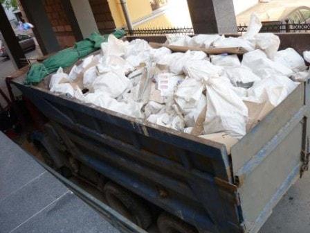 Советы по вывозу строительного мусора при ремонте