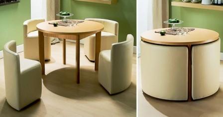Компактные дизайнерские идеи для маленьких квартир