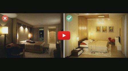 Способы визуального увеличения комнаты - видео