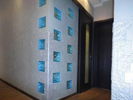 Стеклоблоки в интерьере квартиры и дома
