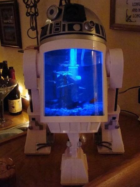 Необычные аквариумы, как оригинальный декор интерьера