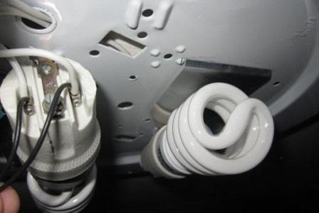 Подключение нагрузки хлопкового выключателя