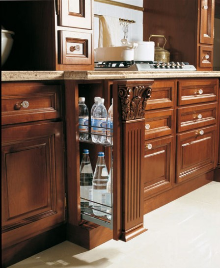 Советы профессионалов по выбору бутылочницы для кухонного гарнитура