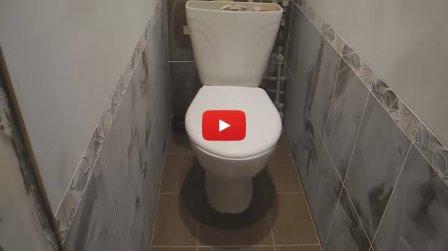 Установка унитаза (видео)