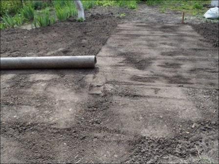 Укладка газонной решетки своими руками + видео