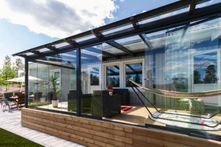 Остекление террасы на даче: выбираем способ и материалы