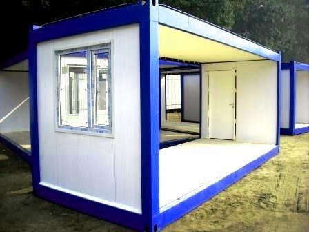 Блочно-модульные здания