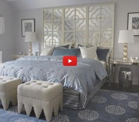 Декоративное оформление стены над кроватью - видео подборка