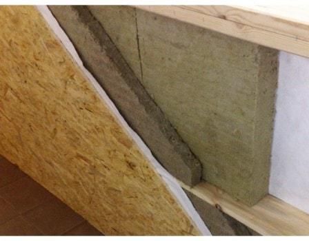 Утепление балконов и стен базальтовым волокном