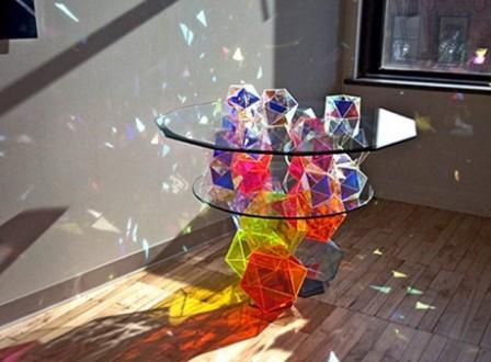 Радужные интерьеры - 21 идея