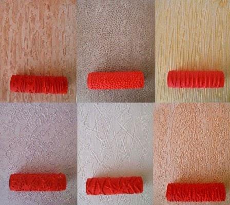 Как наносить фактурную краску на стены?
