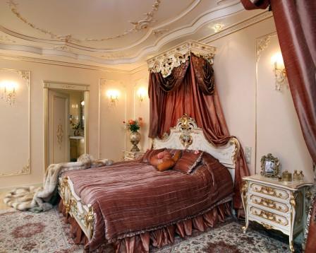 Правила оформления спальни в классическом стиле
