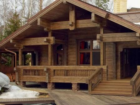 Важные аспекты при строительстве дома из бруса