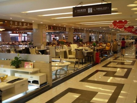 приобретение мебели в Китае