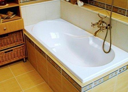 Как очистить акриловую ванну от ржавчины