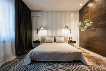 Стиль минимализм в спальне - модно и современно