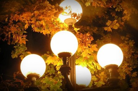Уличное освещение и его виды