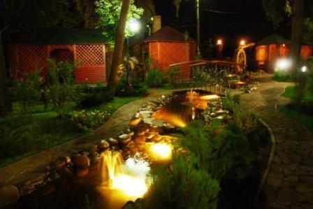 Садовые светильники в ландшафтном дизайне