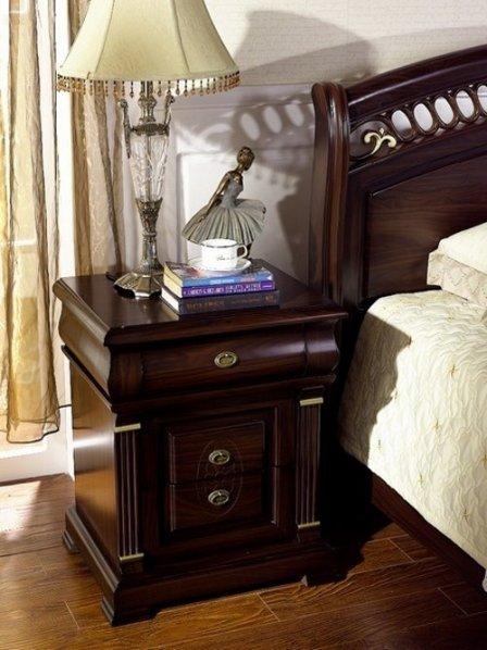 Прикроватные тумбочки в интерьере спальни