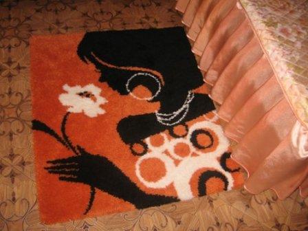Стильный коврик своими руками - мастер-класс