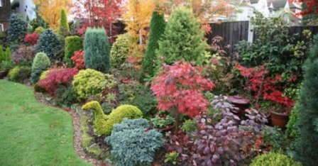 Оформление сада без цветов - стильный и эффектный ландшафтный дизайн