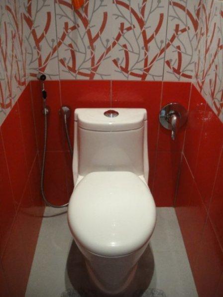 Унитаз как предмет интерьера туалетной комнаты