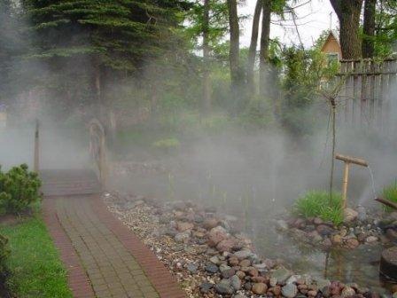 Установка для создания тумана
