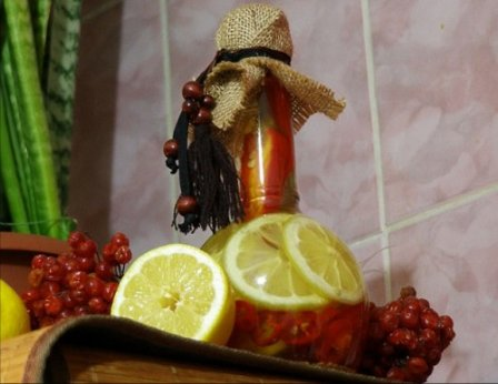 Декоративная бутылка своими руками - мастер-класс