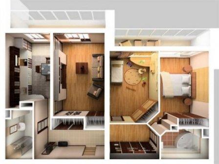 Грамотная перепланировка квартиры