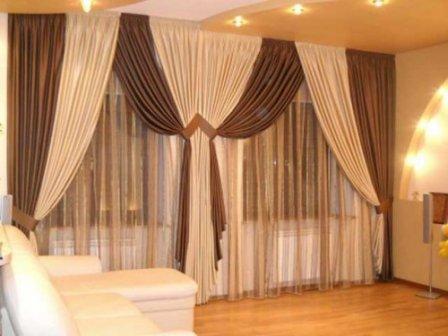 Особенности выбора штор для гостиной