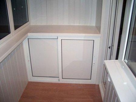 Практичная и эстетичная отделка балкона