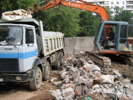 Вывоз строительного мусора - важное мероприятие