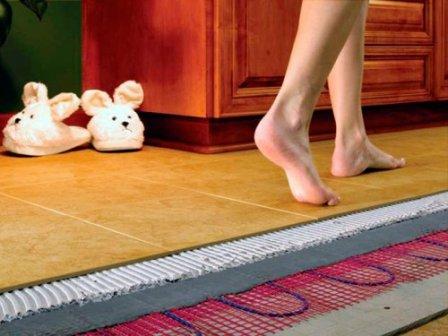 Комфорт в доме с теплым электрическим полом