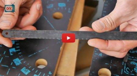 Новая жизнь старых полотен по металлу - видео