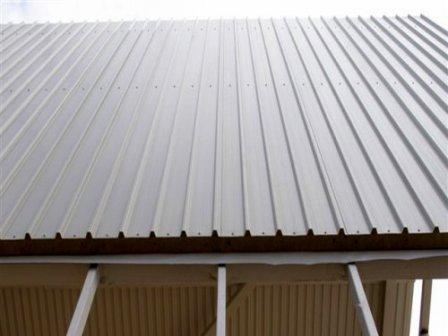 Крыша из сэндвич панелей