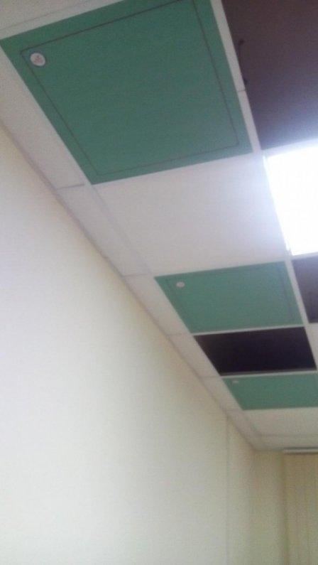 Инфракрасные гипсокартонные греющие панели «REVOLTS»