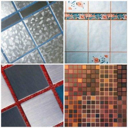 Затирочные смеси для плитки: виды, особенности, цвет