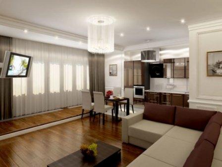 Заказ дизайна интерьера квартиры