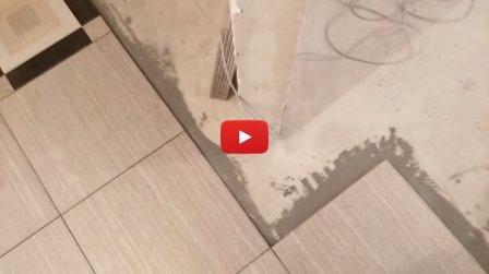 Корректирующая подрезка плитки - быстрый способ (видео)