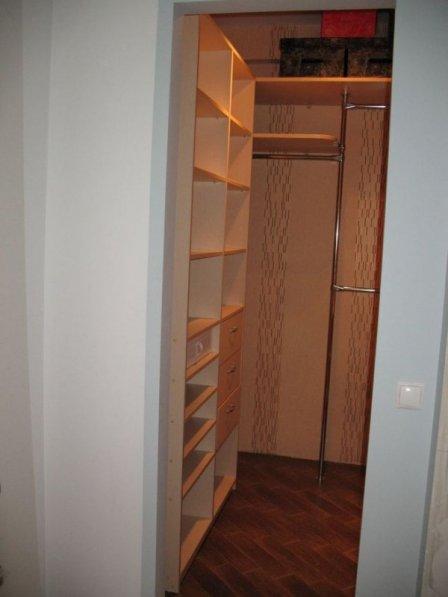 Переделка кладовки в гардеробную в хрущевке