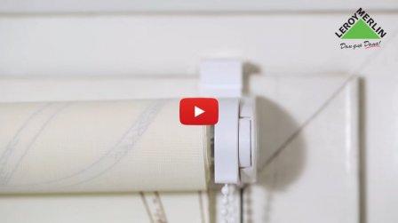 Установка рулонной шторы своими руками - видео