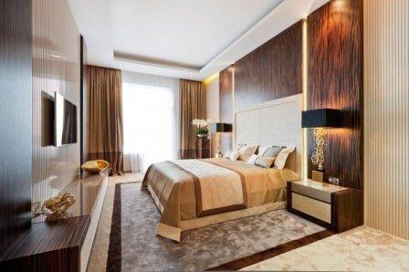 Оформление спальни в стиле люкс - фотоподборка