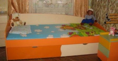 Удобная и комфортная детская комната
