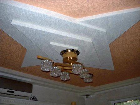 Декоративные штукатурки для потолка