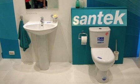 Унитазы отечественного производителя под брендом Santek
